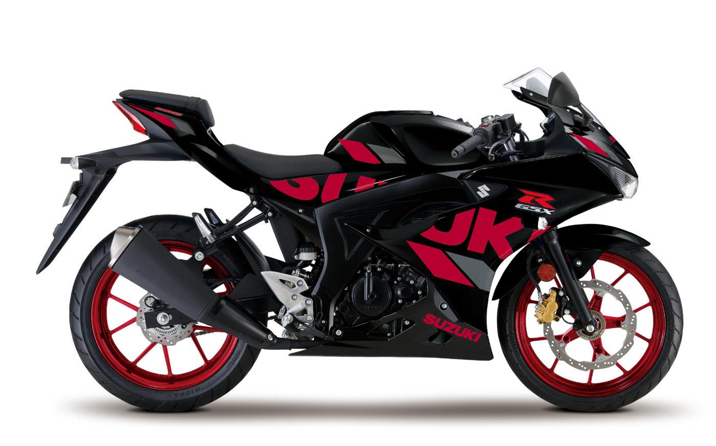 suzuki gsx r125xa 2020 black