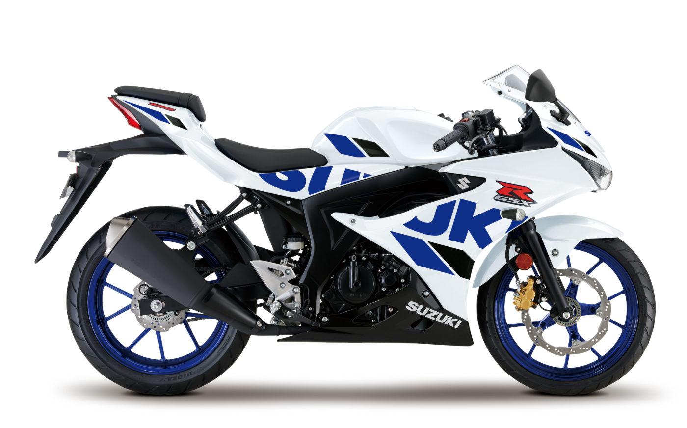 suzuki gsx r125xa 2020 white