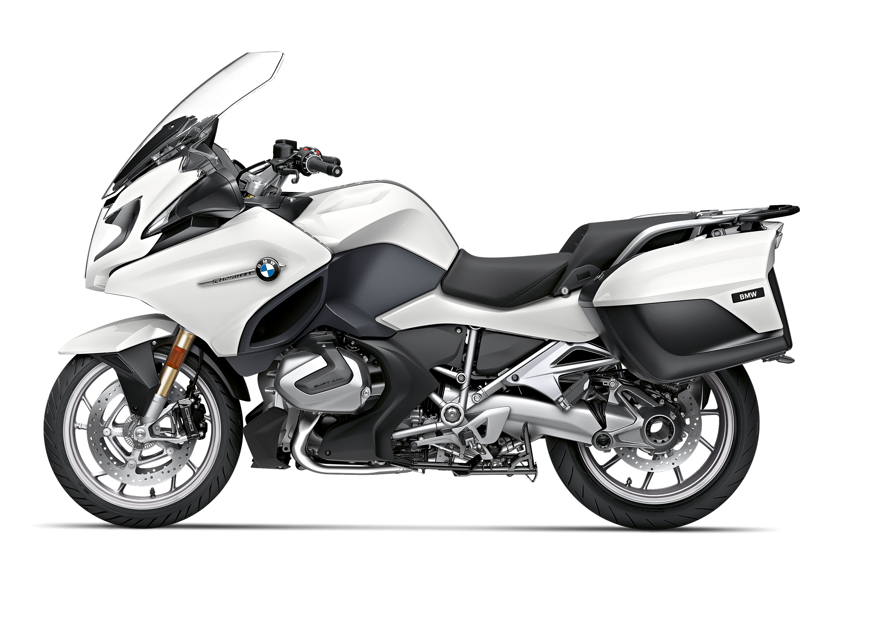 R 1250 RT Alpine White