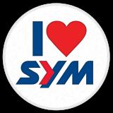 sym love button