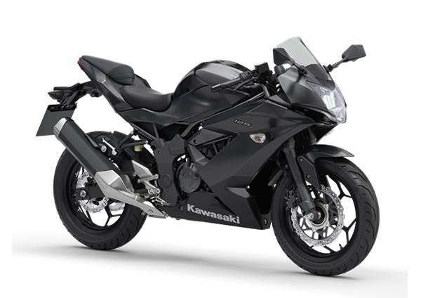 kawasaki ninja 125 2020 black