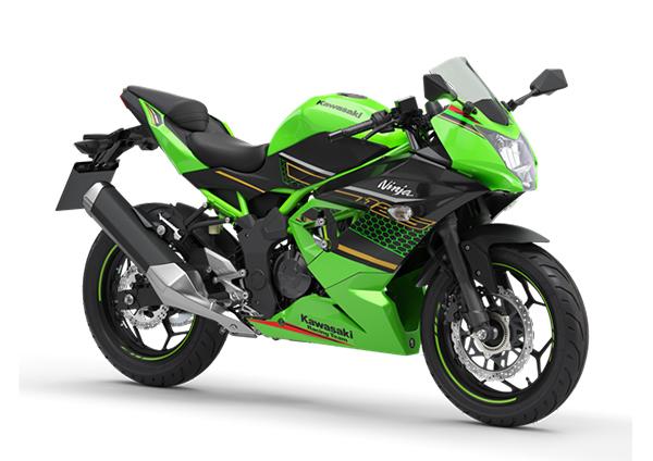 kawasaki ninja 125 2020 lime green