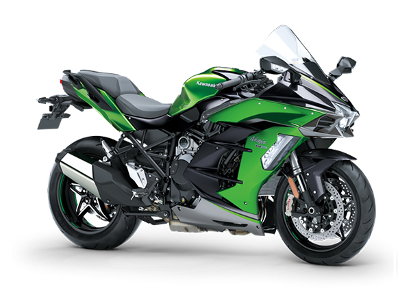 kawasaki ninja h2 sx se 2020 green