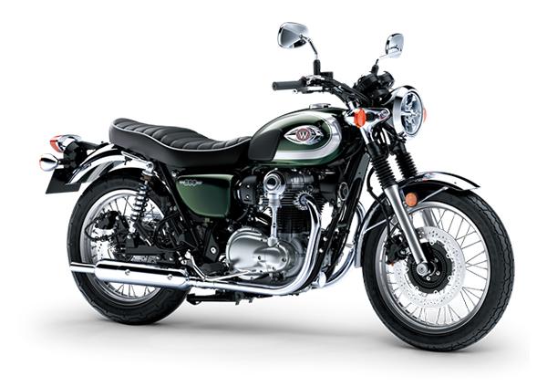 kawasaki w800 2020 dark green