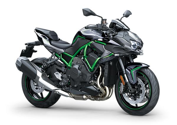 kawasaki z h2 2020 black green