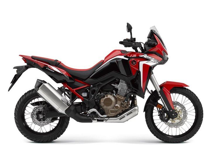 honda crf1100l africa twin dct 2020 red
