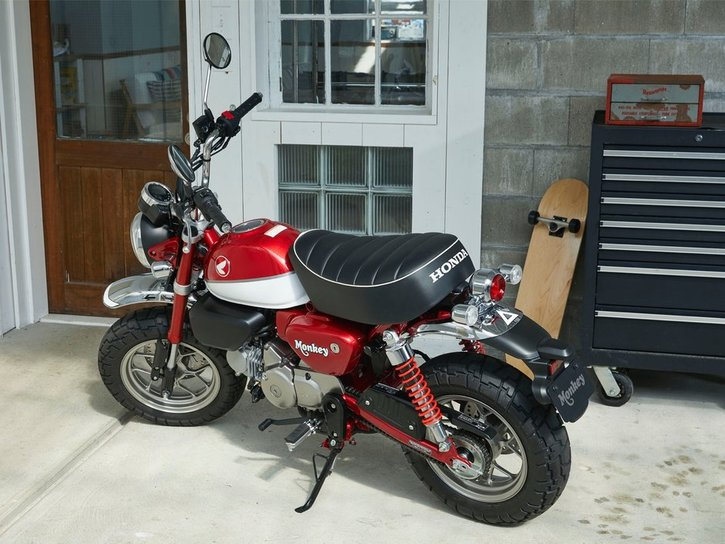 Honda Monkey 125 2020 red show