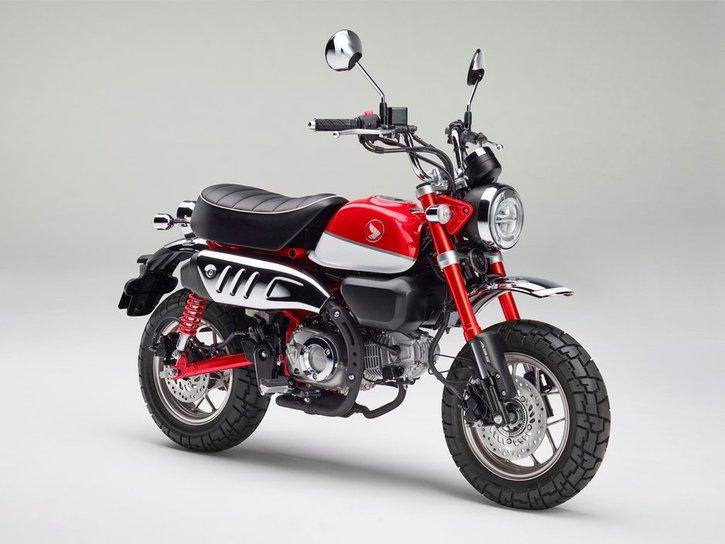 Honda Monkey 125 2020 red sidew