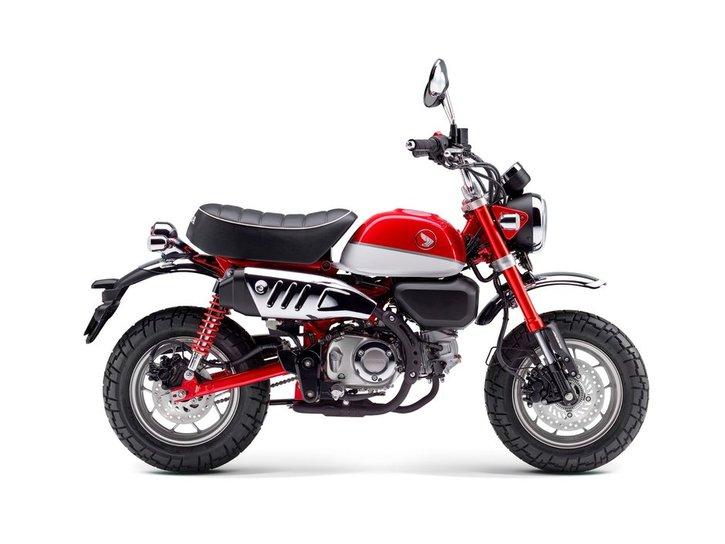 Honda Monkey 125 2020 red