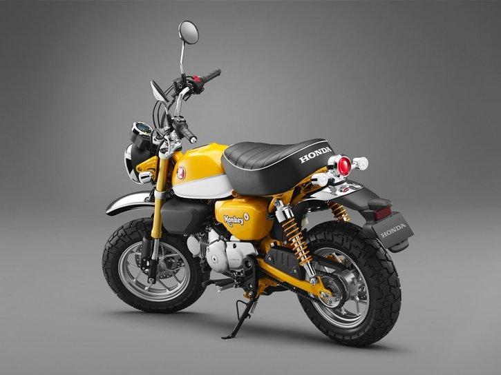 Honda Monkey 125 2020 yellow back