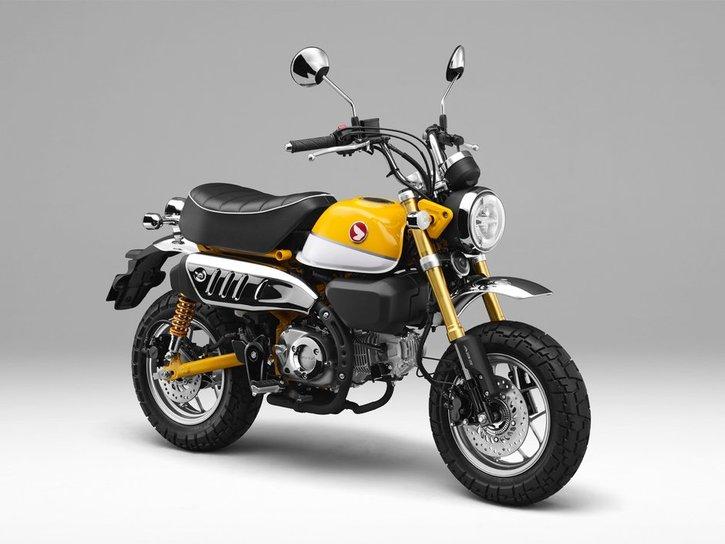 Honda Monkey 125 2020 yellow side