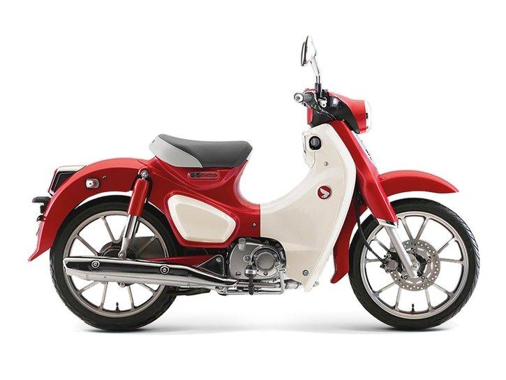 Honda Super Cub 125 2020 red
