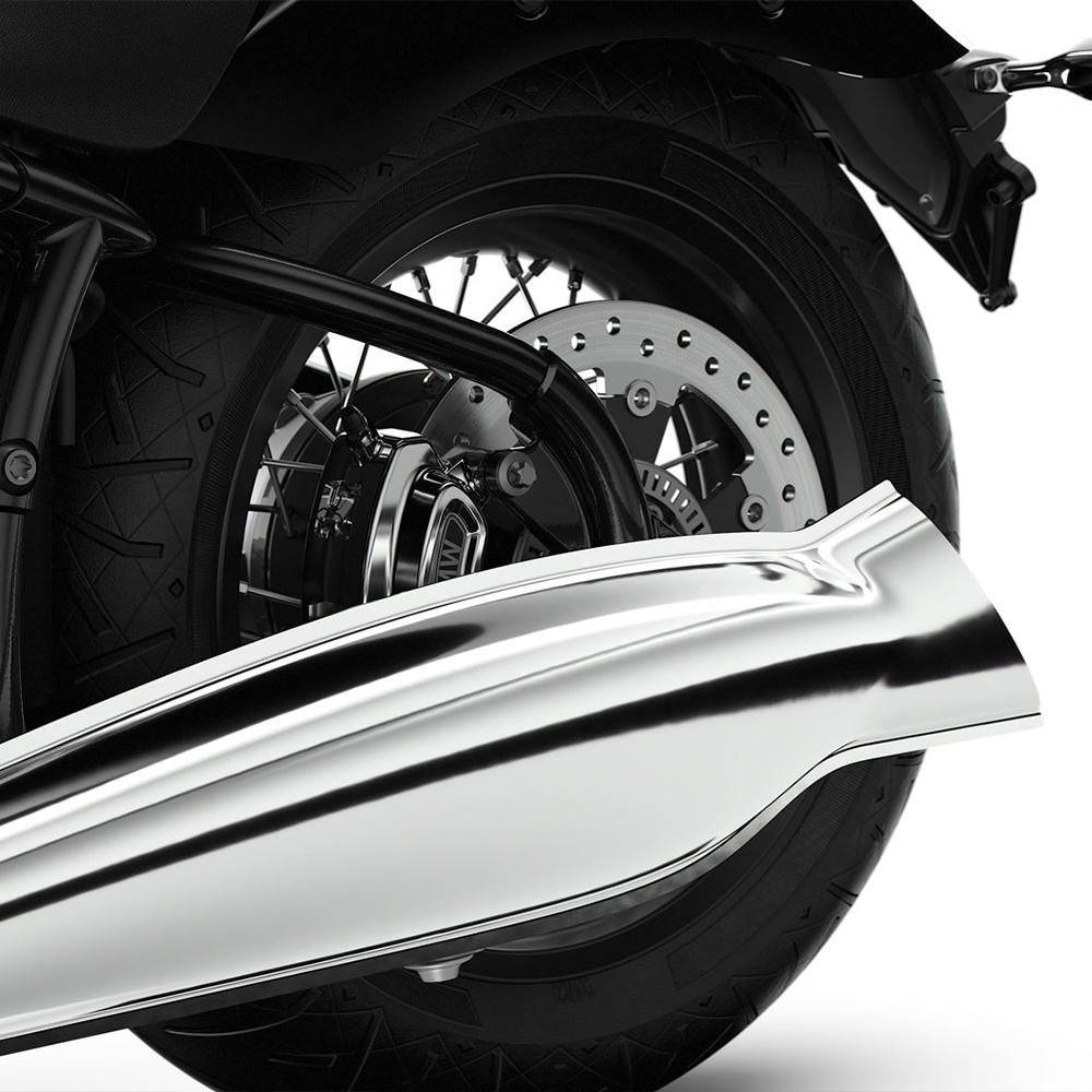 BMW R18 Fist Edition 2020 Fishtail rear silencer 10 10