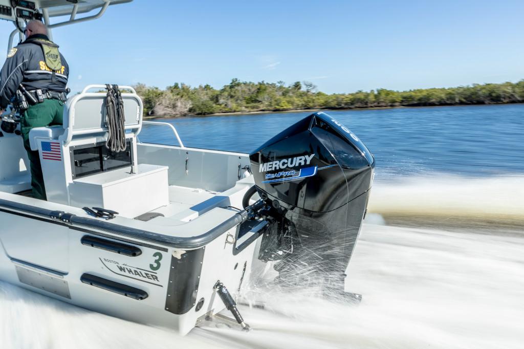 200hp SeaPro 210Guardian Saltwater 2017 Running 50