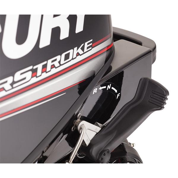 25HP FourStroke Jet detail Shift