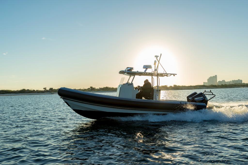 300hp SeaPro 850Impact Saltwater 2017 Running 54