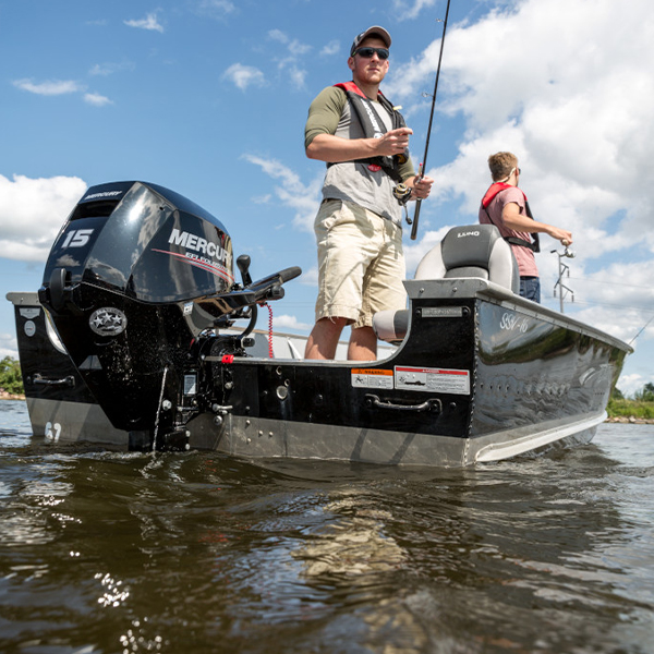 Mercury FourStroke 15 hv perämoottori kalastus
