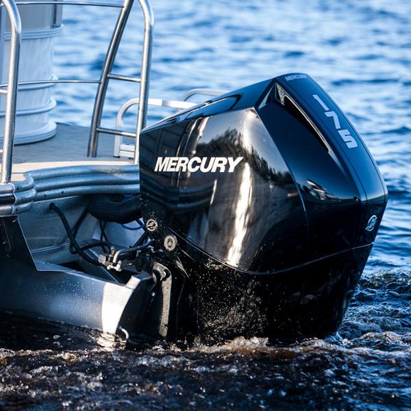 Mercury FourStroke 175 hv perämoottori vene