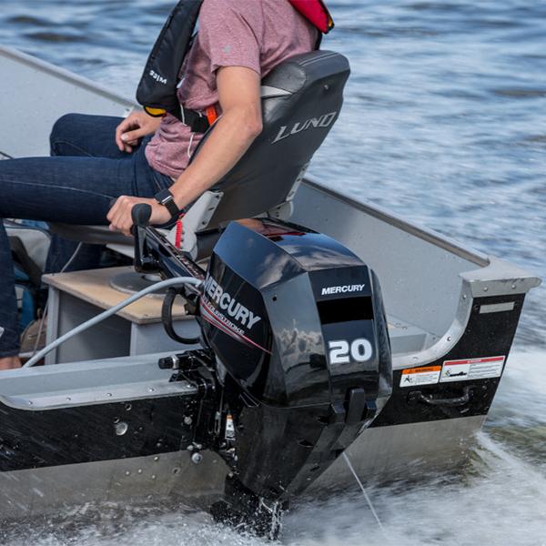 Mercury FourStroke 20 hv perämoottori boat