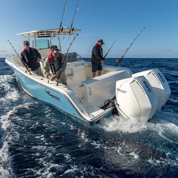 Mercury verado 300 hv perämoottori fishing 2