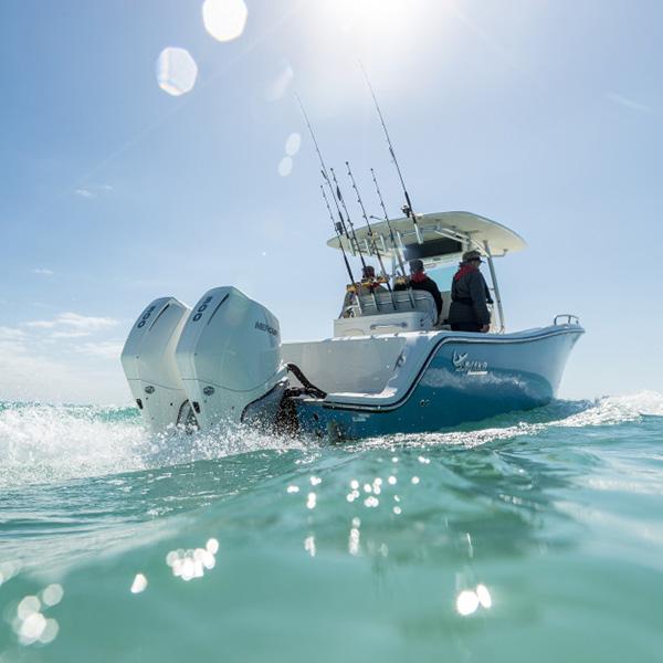 Mercury verado 300 hv perämoottori fishing