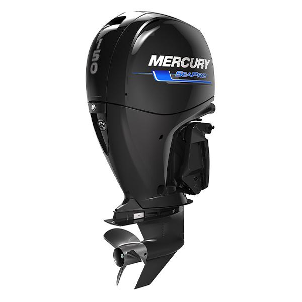 mercury 150HP FourStroke SeaPro 3qtr Stbrd Aft