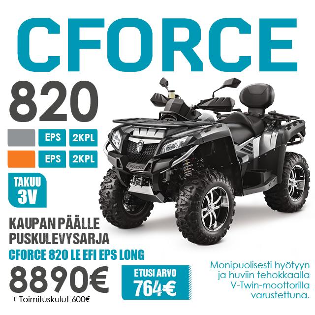 CFMoto 520 600 820 Puskulevysarja TK