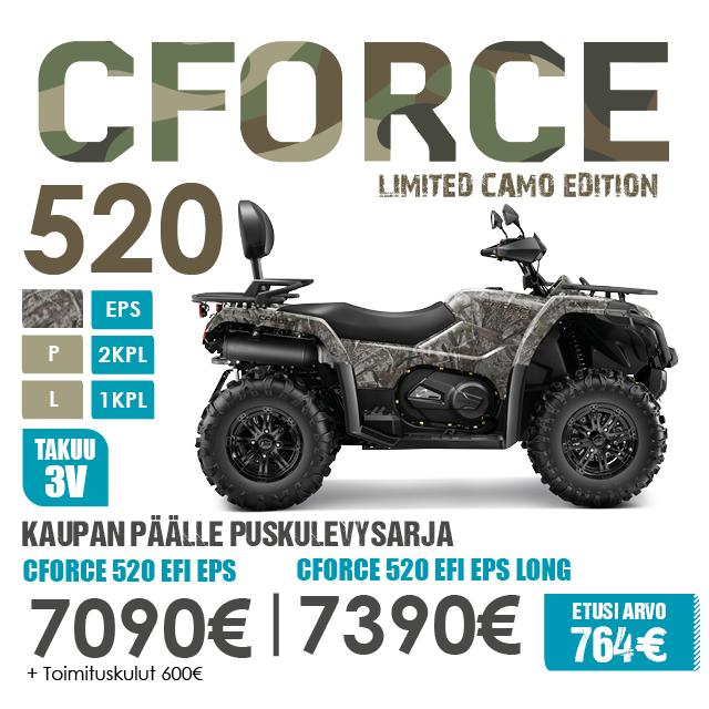 CFMoto 520 600 820 Puskulevysarja TK3