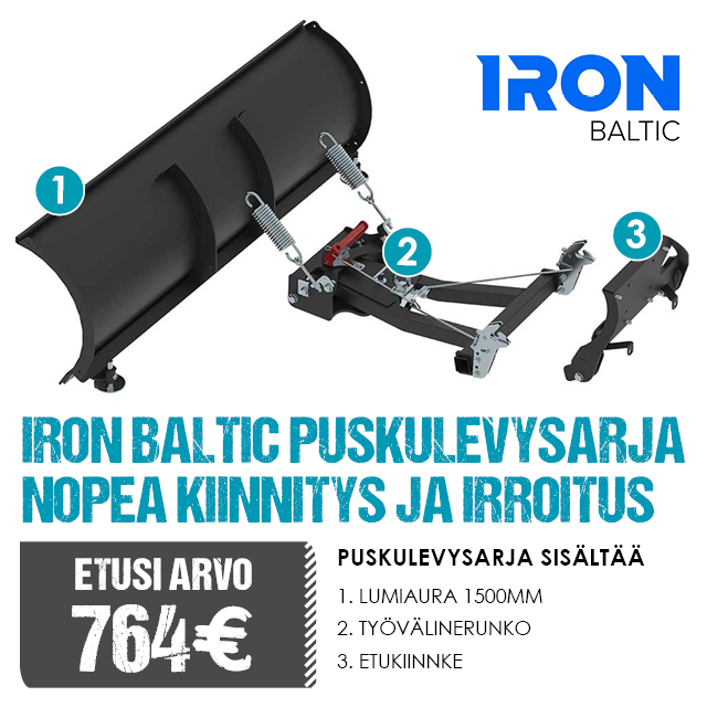 CFMoto Mailer Iron Baltic
