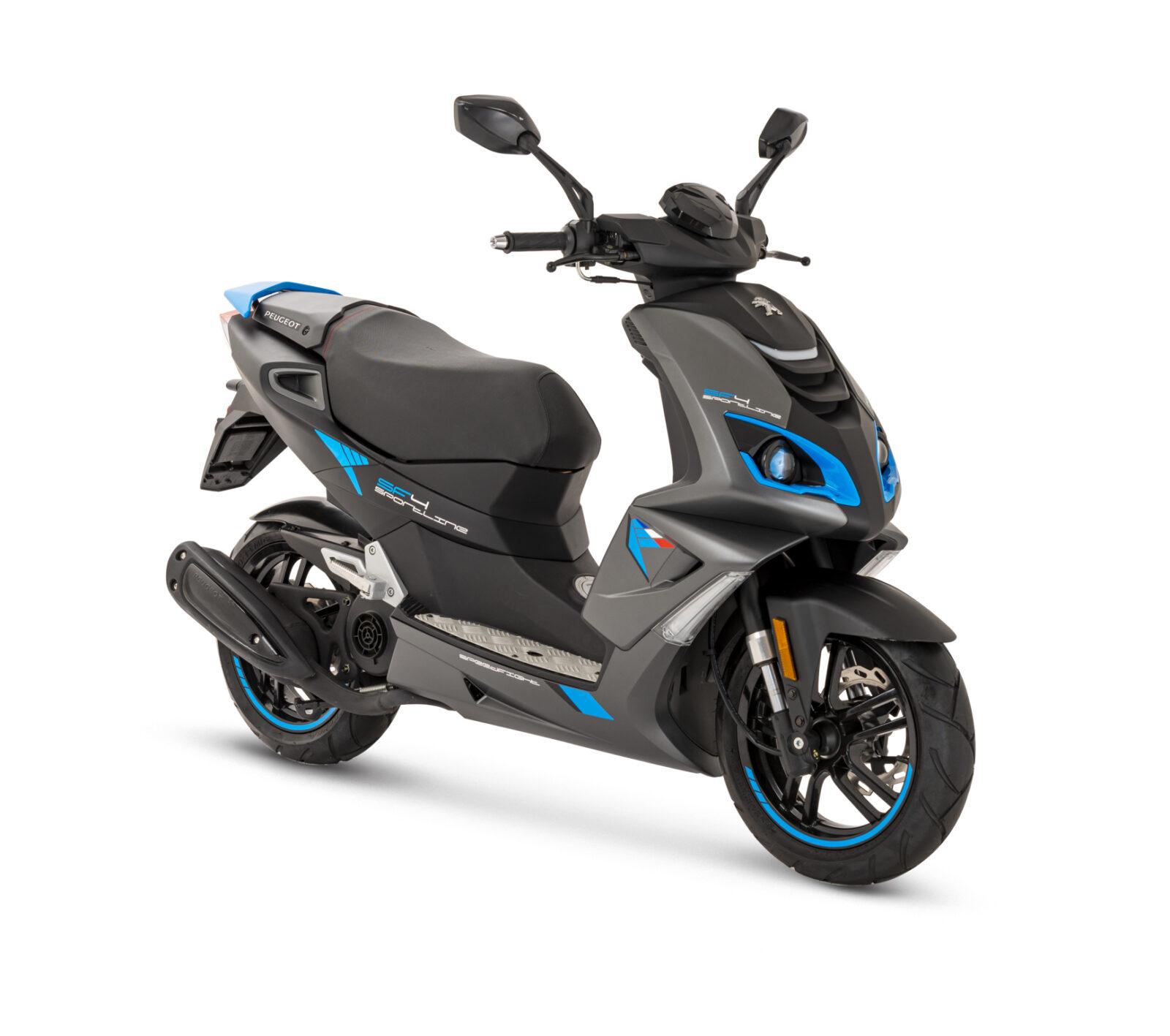 Peugeot Speedfight 2T sininen