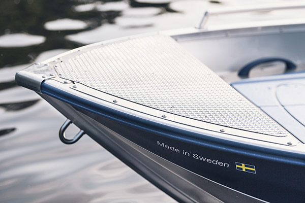 2020-09-22 Barum Linder Aluminiumbåtar. Foto: Jonas Ljungdahl