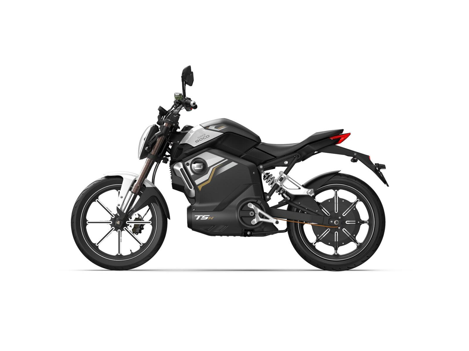 Super Soco TSX Black ATV 01770