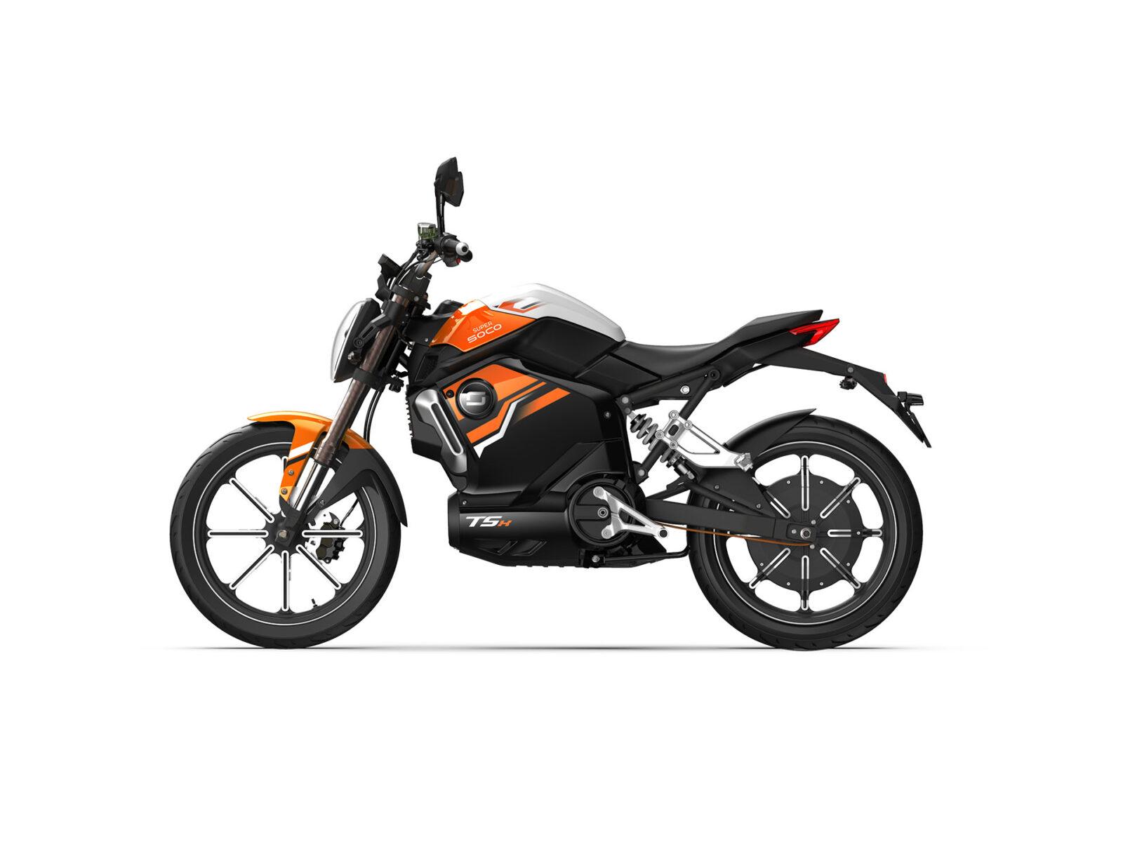 Super Soco TSX Orange ATV 01753