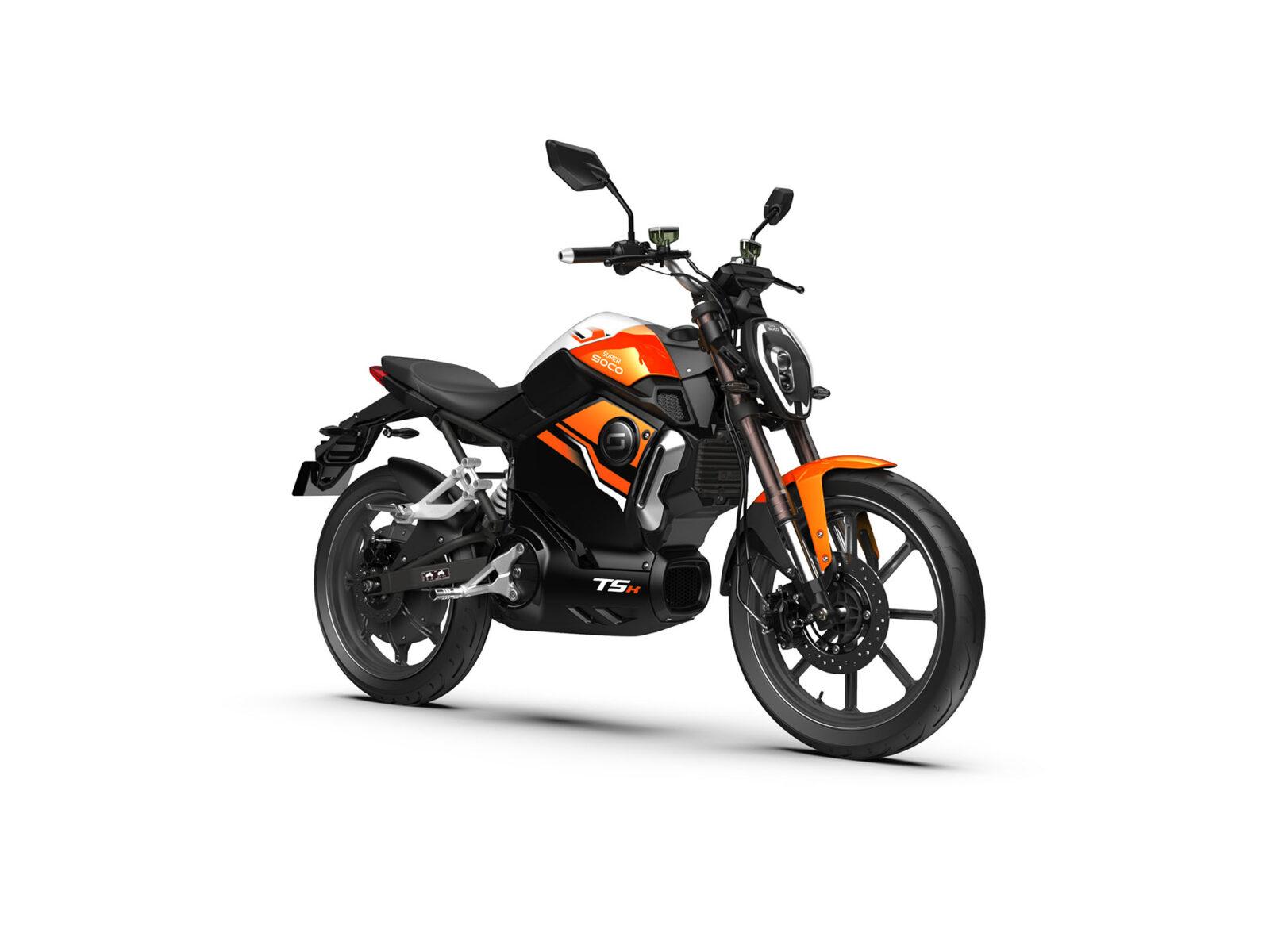 Super Soco TSX Orange ATV 01754