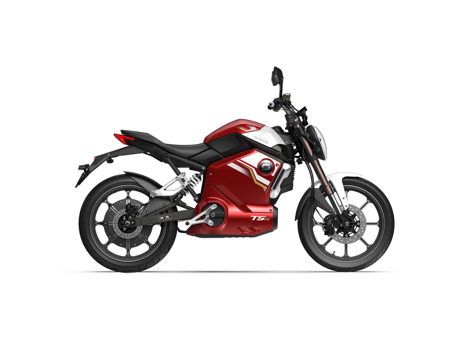 Super Soco TSX Red ATV 01761