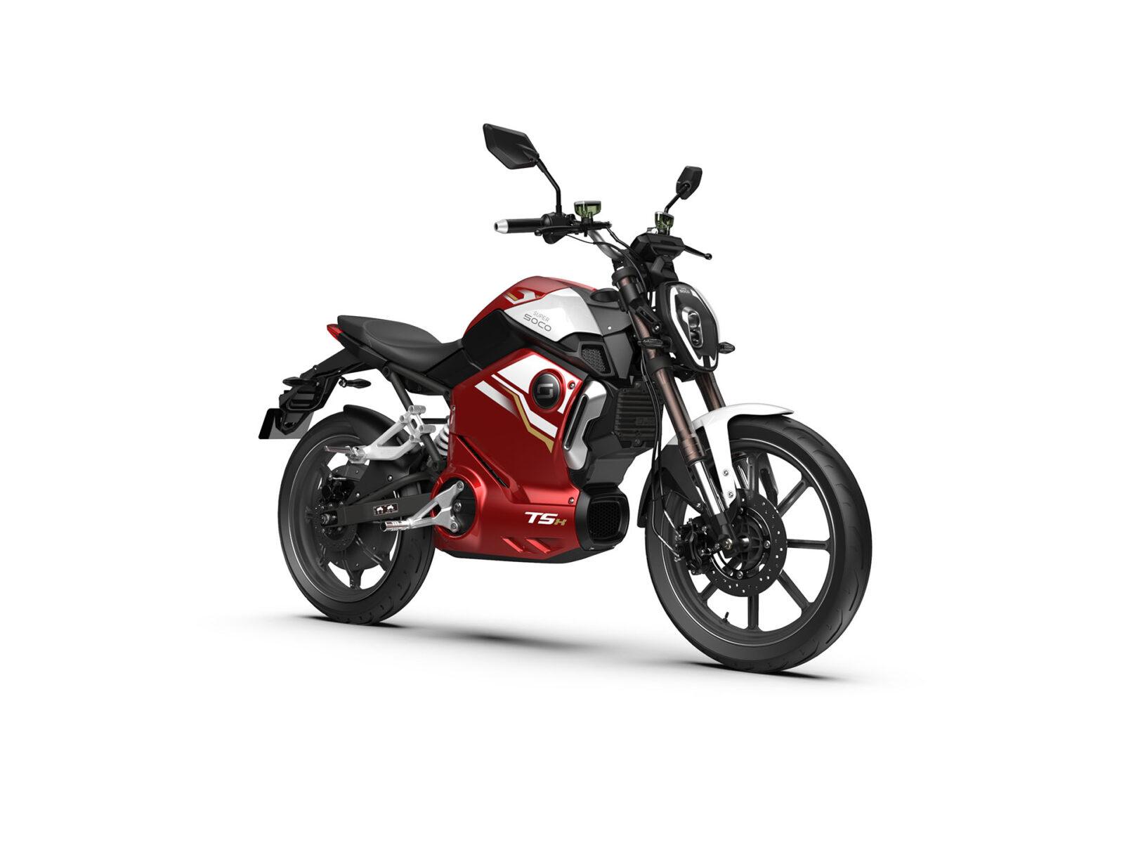 Super Soco TSX Red ATV 01763
