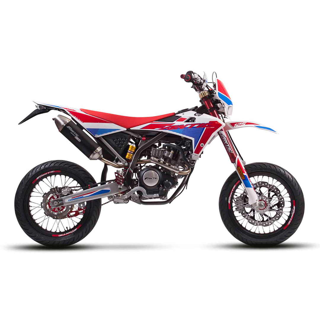 Fantic COMPETITION 125 Motard 2020 red