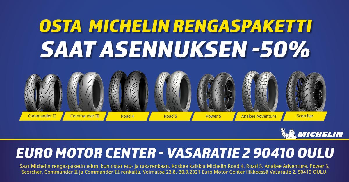 Michelin rengaskampanja FB 2 8 2021