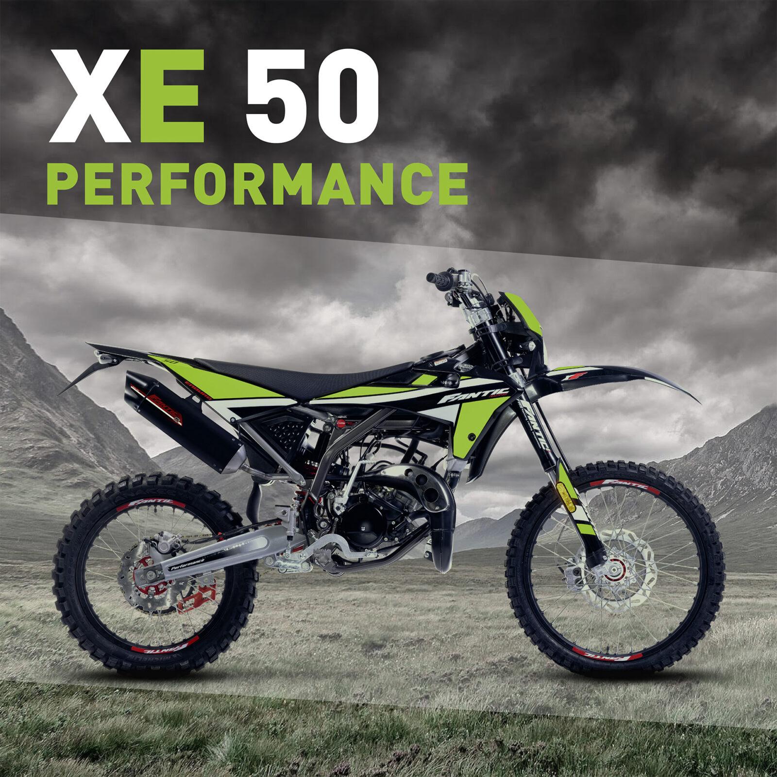 Fantic XE 50 PERFORMANCE Enduro