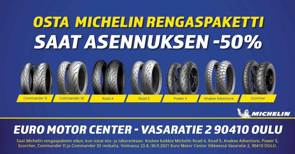 Michelin rengaskampanja FB 2 8-2021